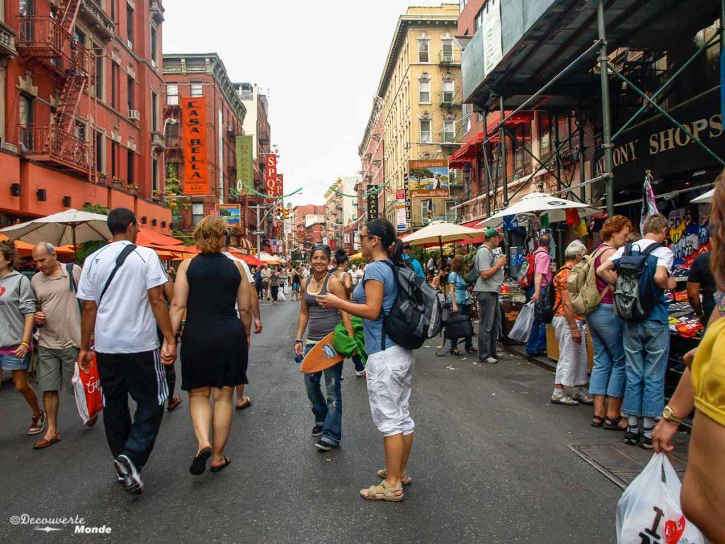 quartiers New-York ville à visiter