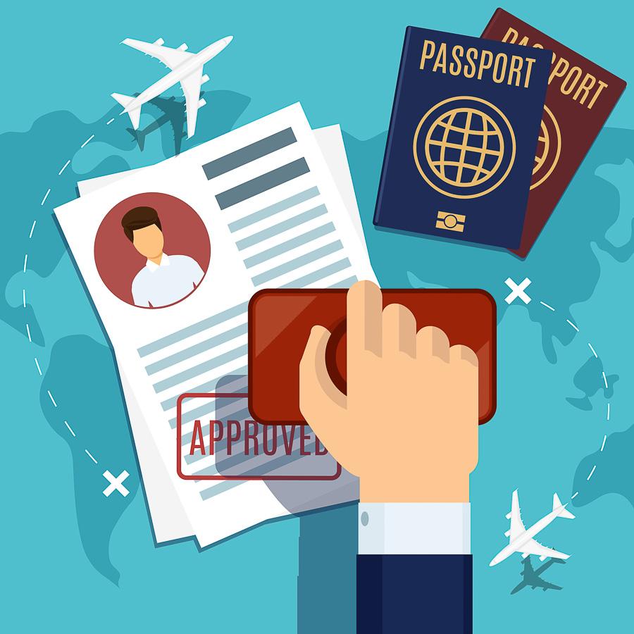 demande de passeport acceptée