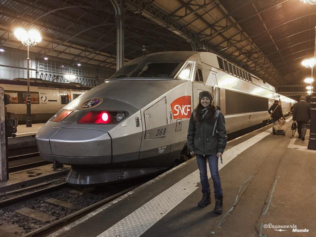 train se déplacer en France