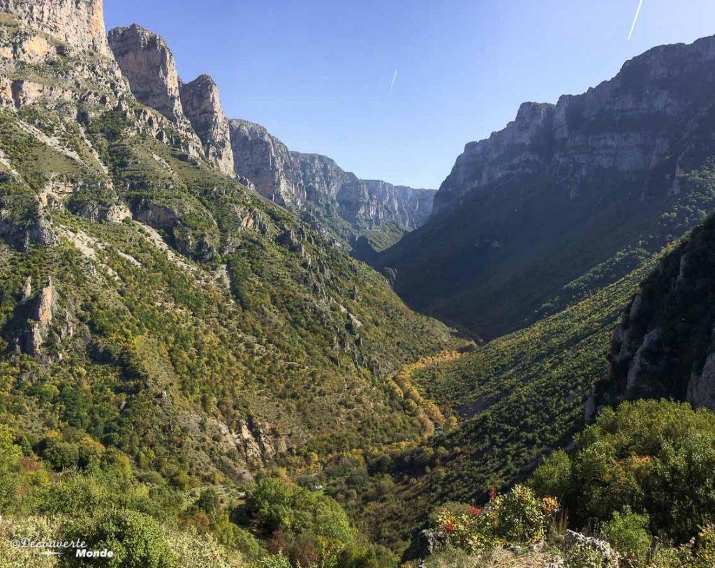 gorges de vikos grèce continentale