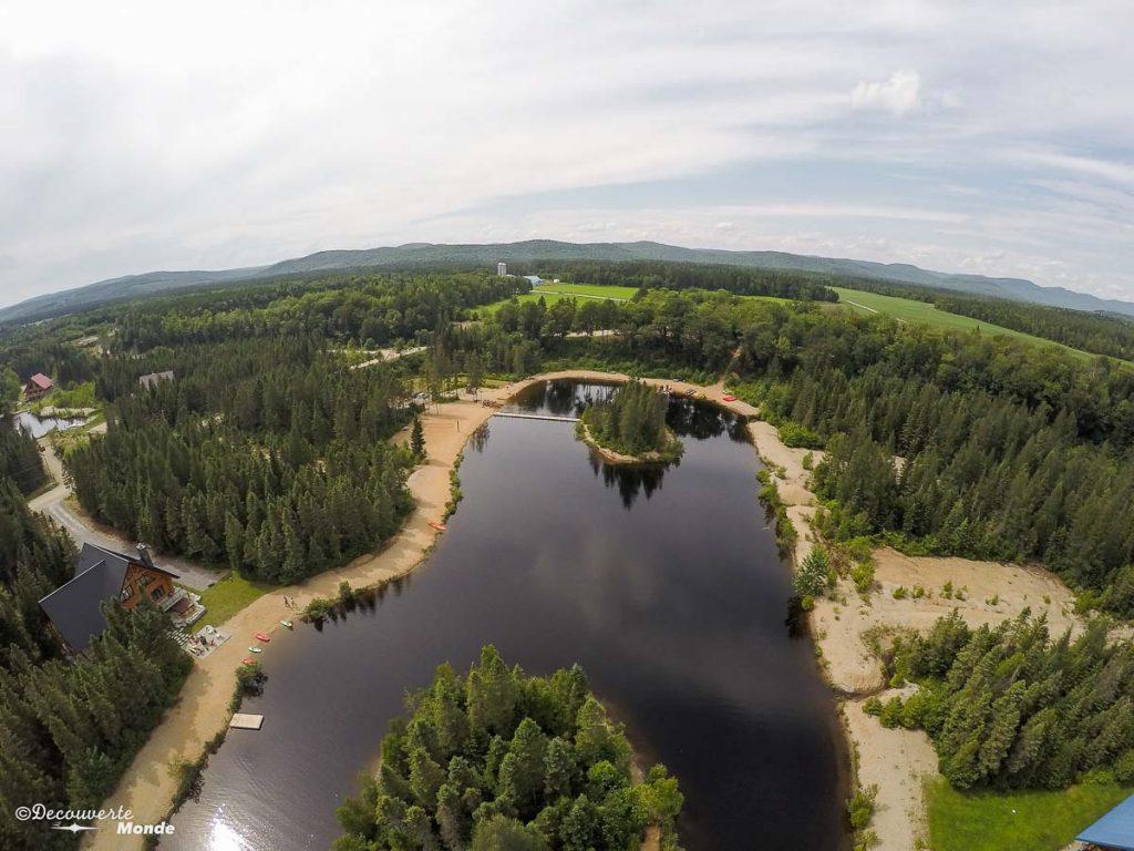 lac Au Chalet en Bois Rond