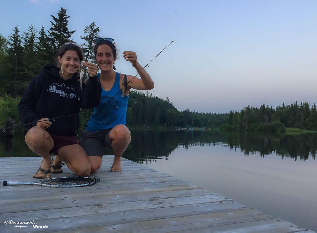 pêche rivière sainte-anne