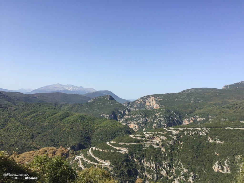 voyage road trip grèce continentale