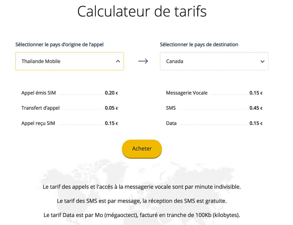 explod carte sim internationale calculateur