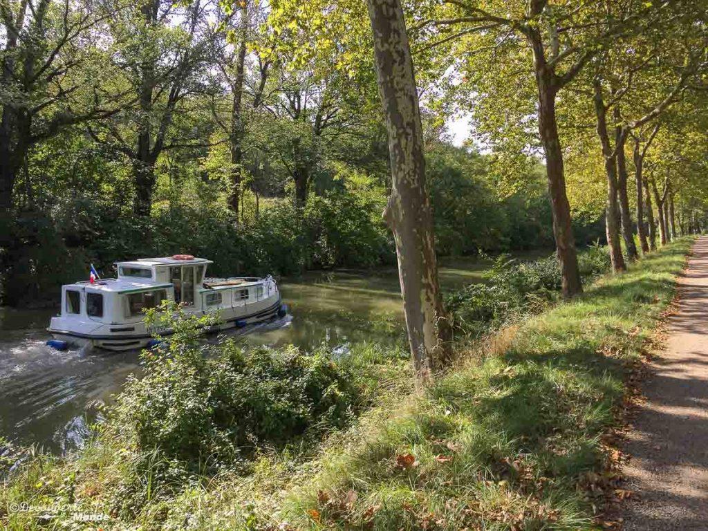 canal du midi région occitanie