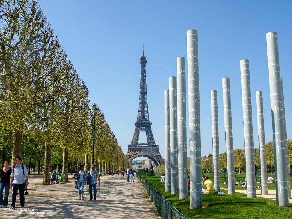 que faire à Paris tour eiffel