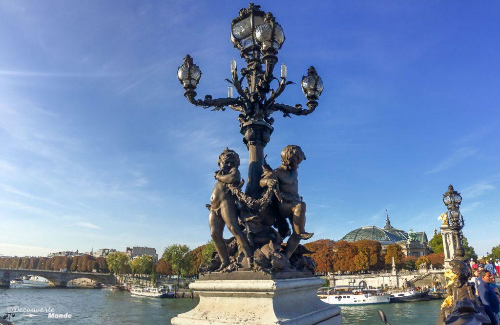 visiter paris pont alexandre III