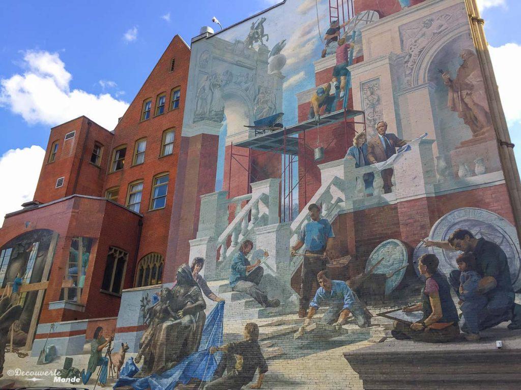 Que faire à Philadelphie et visiter en 10 coups de coeur. Ici l'art mural de Philadelphie. Retrouvez l'article ici: https://www.decouvertemonde.com/quoi-faire-a-philadelphie-visiter
