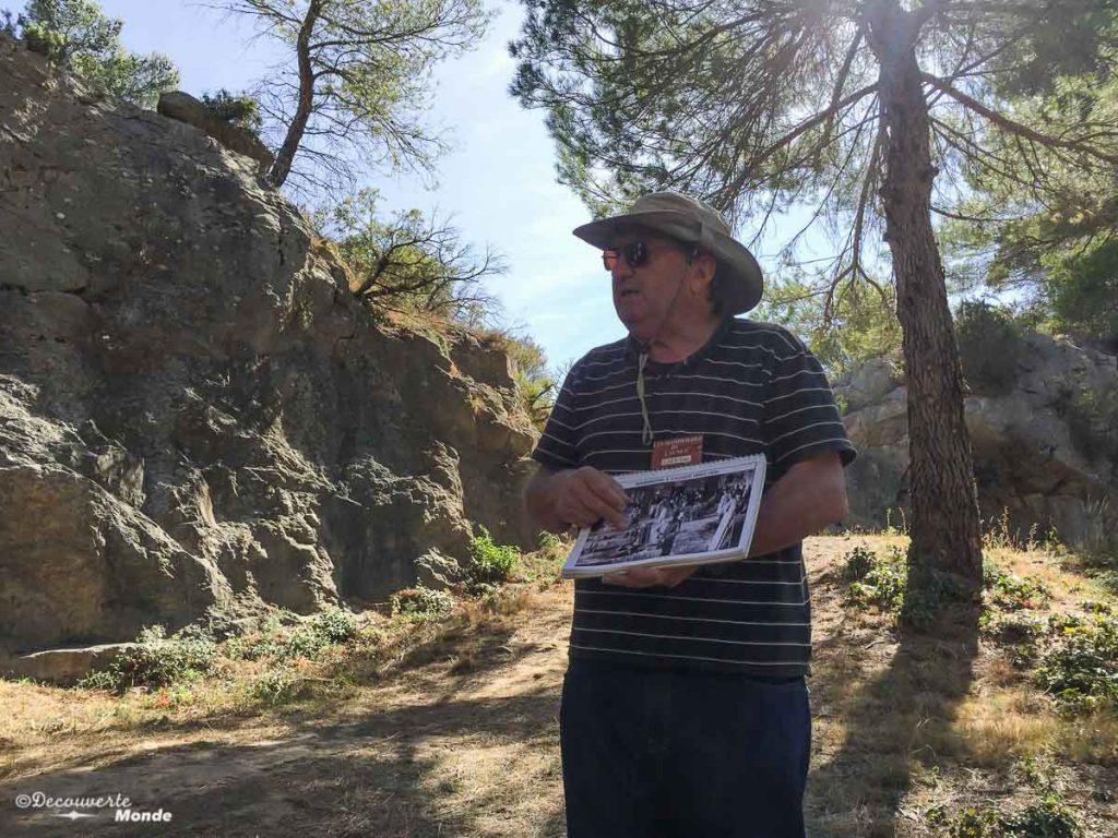 Visiter l'Aude pays Cathare en 7 idées de choses à faire. Visite de la carrière de marbre à Caunes Minervois. Retrouvez l'article ici: https://www.decouvertemonde.com/visiter-l-aude-pays-cathare