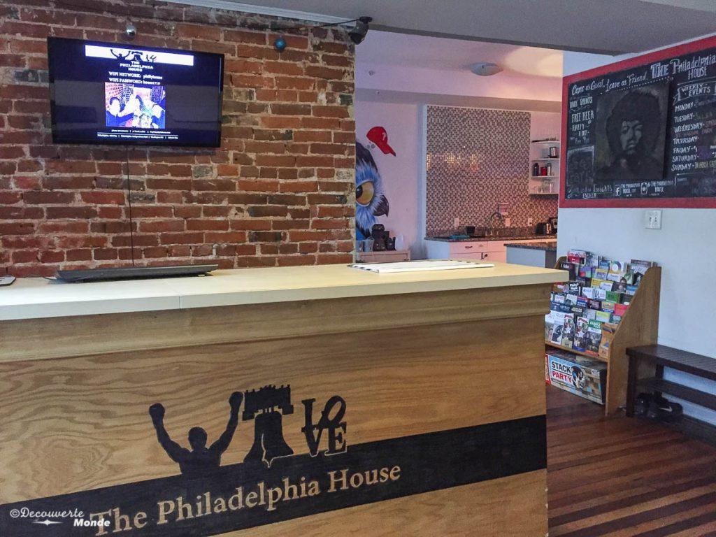 Que faire à Philadelphie et visiter en 10 coups de coeur. Ici au City House hostel. Retrouvez l'article ici: https://www.decouvertemonde.com/quoi-faire-a-philadelphie-visiter
