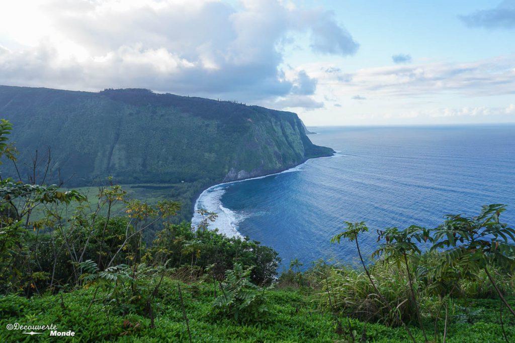 Big Island : Mon voyage de 10 jours sur la plus grande des îles d'Hawaii. Ici vue sur la vallée de Waipi'o. Retrouvez l'article ici: https://www.decouvertemonde.com/big-island-voyage-iles-hawaii
