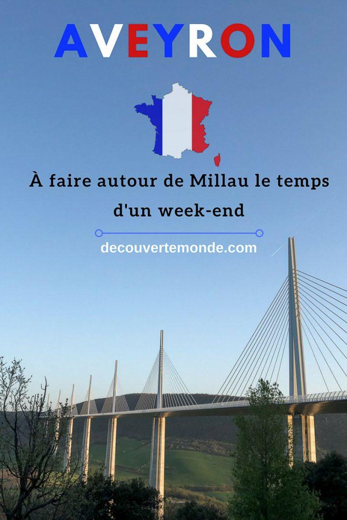 Retrouvez mon article Visiter l'Aveyron en France : Que faire autour de Millau le temps d'un week-end. #aveyron #millau #france #voyage #europe