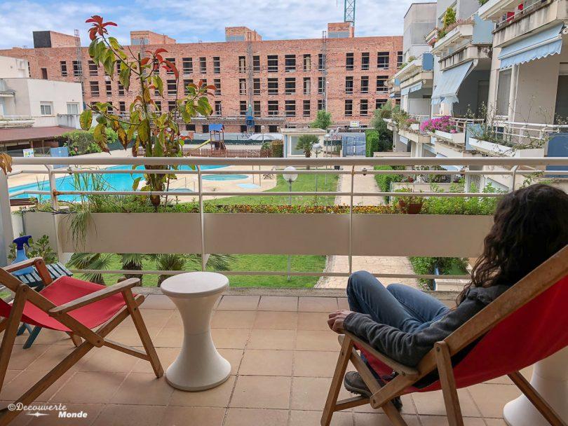 Sur la Costa Dorada en Espagne, en échange de maison avec GuestToGuest. Photo tirée de mon article Échange de maison avec GuestToGuest : Prêtez-la, gagnez des points et voyagez pas cher. #guesttoguest #echangedemaison #voyage #voyagerpascher #hebergement #costadorada #espagne #catalogne