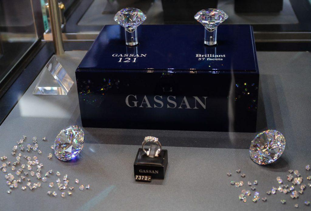 Les diamants de Gassan à Amsterdam. Photo tirée de mon article Visiter Amsterdam : Que faire et voir dans cette ville le temps d'un week-end. #amsterdam #paysbas #europe #voyage #citytrip #diamant #gassan