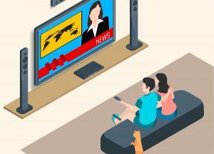 Apprendre l'anglais en écoutant la télévision. Dans mon article sur Comment apprendre l'anglais pour voyager : Mes différentes astuces. #anglais #apprendrelanglais