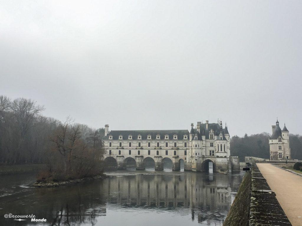 Le château de Chenonceau en France. Photo tirée de mon article Châteaux de France : Mes découvertes au fil de mes voyages. #france #europe #voyage #chateau #chenonceau