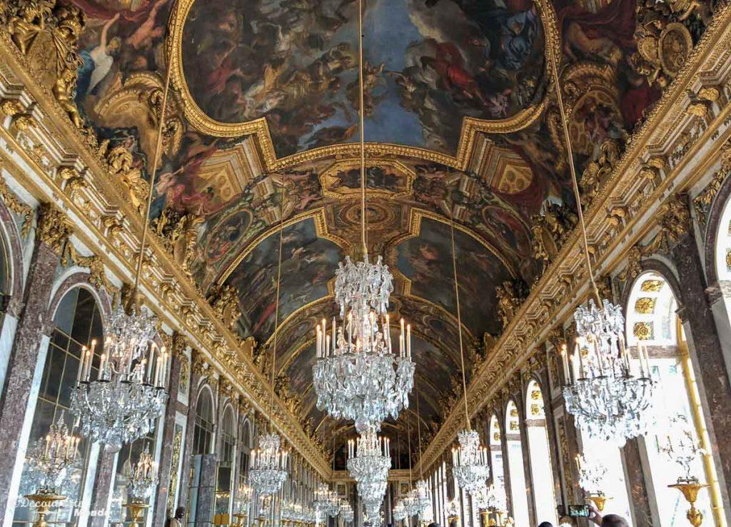 Le château de Versailles en France. Photo tirée de mon article Châteaux de France : Mes découvertes au fil de mes voyages. #france #europe #voyage #chateau #versailles