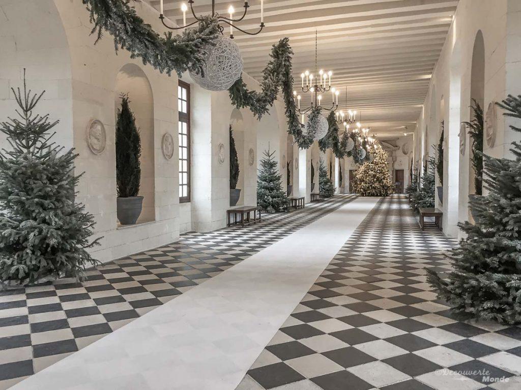 L'intérieur du château de Chenonceau en France. Photo tirée de mon article Châteaux de France : Mes découvertes au fil de mes voyages. #france #europe #voyage #chateau #chenonceau