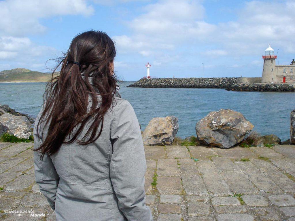À Howth, une belle escapade à faire à partir de Dublin. Photo tirée de mon article Visiter Dublin en Irlande : Que voir et faire le temps d'un weekend. #irlande #dublin #europe #voyage
