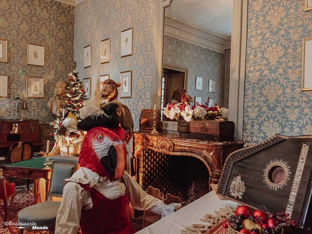L'intérieur du château de Meung-sur-Loire en France. Photo tirée de mon article Châteaux de France : Mes découvertes au fil de mes voyages. #france #europe #voyage #chateau #meung-sur-loire