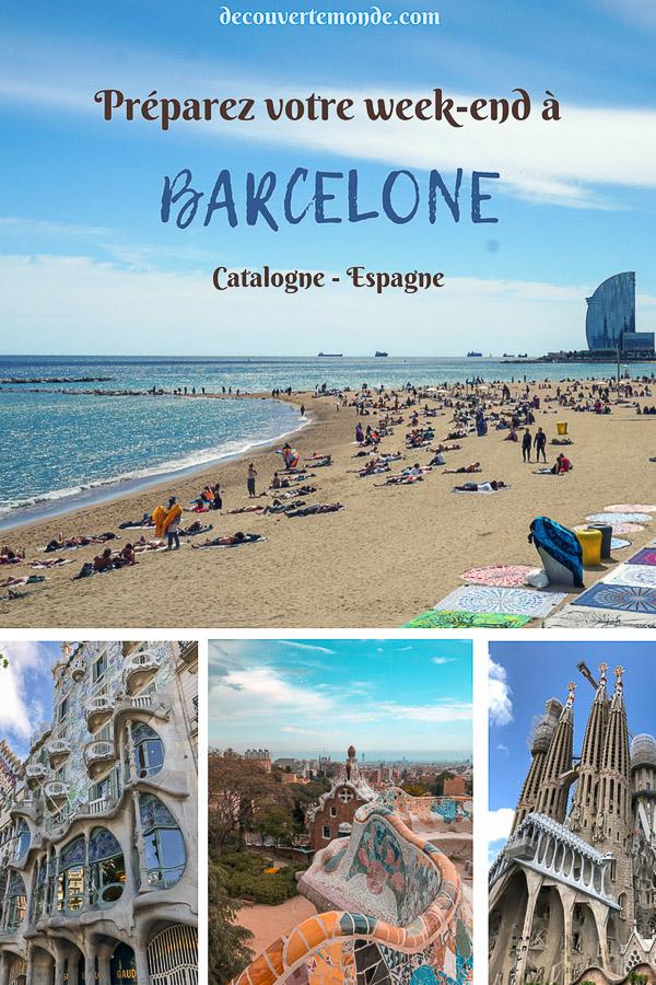 Visiter Barcelone en Espagne : Que faire et voir le temps d'un week-end. | Que faire à Barcelone et que voir | Quoi voir à Barcelone et quoi faire | Que visiter à Barcelone | Activités à Barcelone | Où dormir à Barcelone| #barcelone #barcelona #europe #espagne #catalogne #citytrip #voyage