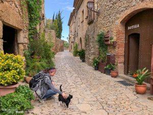 Village de Peratallada sur la Costa Brava dans mon article Visiter la Catalogne en Espagne : Que voir et que faire en 8 lieux à visiter #espagne #catalogne #europe #barcelone #voyage #costabrava #peratallada #moyenage
