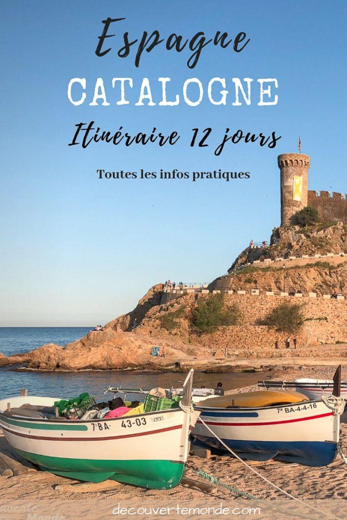 Visiter la Catalogne en Espagne : Que voir et que faire en 8 lieux à visiter | Où aller en Catalogne | Que faire en Catalogne et que voir en Catalogne | Quoi voir en Catalogne et quoi faire | Que visiter en Catalogne| Itinéraire Catalogne en Espagne | Où dormir en Catalogne | Visiter la Catalogne #catalogne #catalunya #espagne #spain #europe #barcelone #costabrava #voyage #costadorada