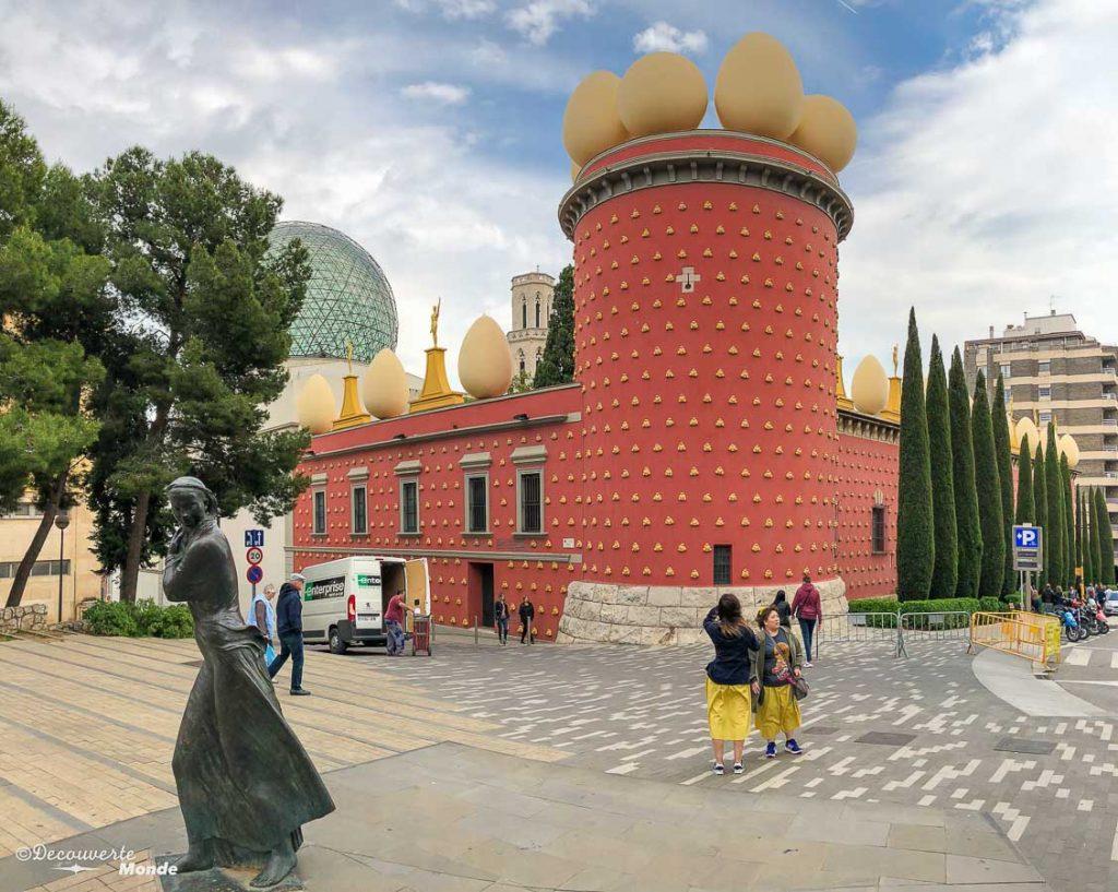 Le musée de Dali à Figueres dans mon article Visiter la Catalogne en Espagne : Que voir et que faire en 8 lieux à visiter #espagne #catalogne #europe #voyage #figueres #dali