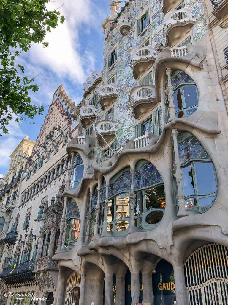Maison de Gaudi à Barcelone dans mon article Visiter la Catalogne en Espagne : Que voir et que faire en 8 lieux à visiter #espagne #catalogne #europe #barcelone #voyage #gaudi