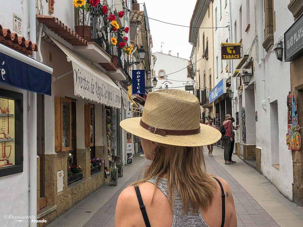 Dans la ville nouvelle de Tossa de Mar sur la Costa Brava dans mon article Visiter la Catalogne en Espagne : Que voir et que faire en 8 lieux à visiter #espagne #catalogne #europe #barcelone #voyage #costabrava #tossademar