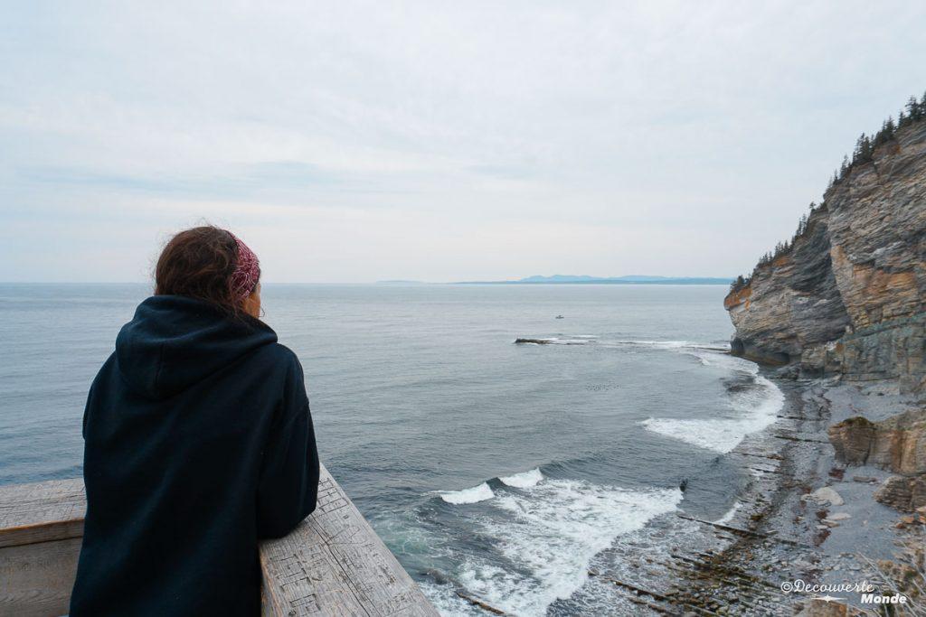 Le Bout du Monde au Parc Forillon dans mon article Gaspésie en 10 jours : Itinéraire de mon tour de la Gaspésie en road trip #gaspesie #quebec #canada #voyage #quebecoriginal #explorecanada #forillon #parccanada