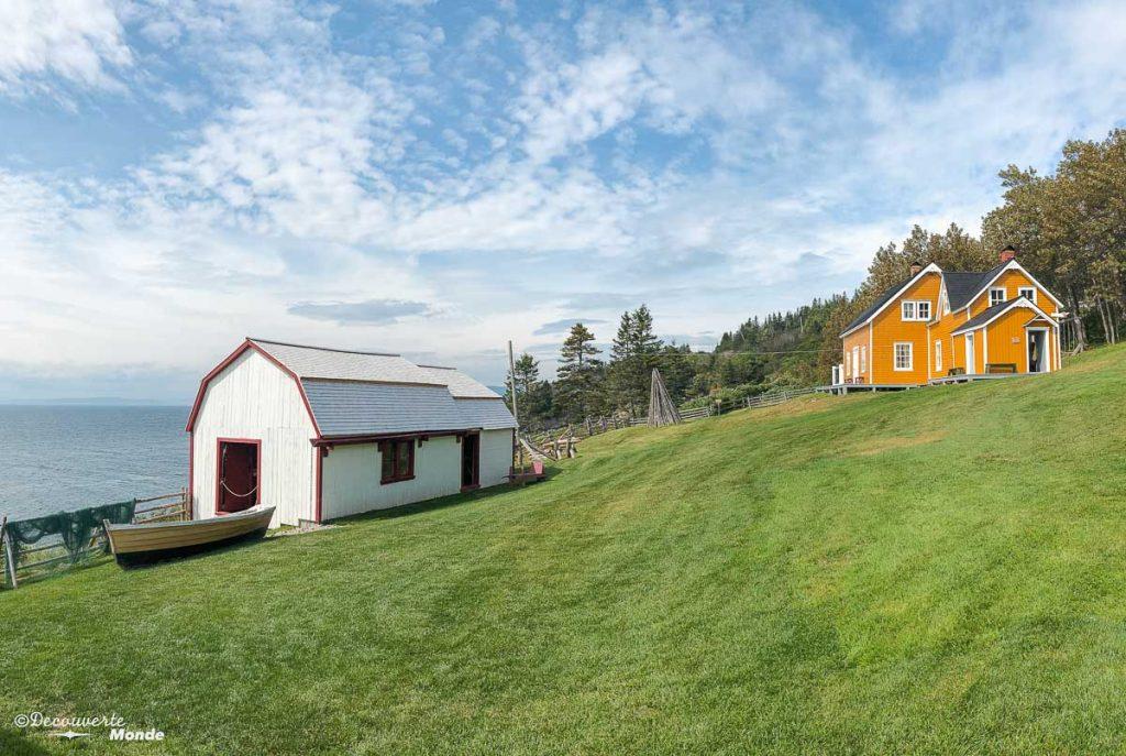 Site patrimonial de la maison Blanchette dans le parc Forillon dans mon article Gaspésie en 10 jours : Itinéraire de mon tour de la Gaspésie en road trip #gaspesie #quebec #canada #voyage #quebecoriginal #explorecanada #forillon #parccanada