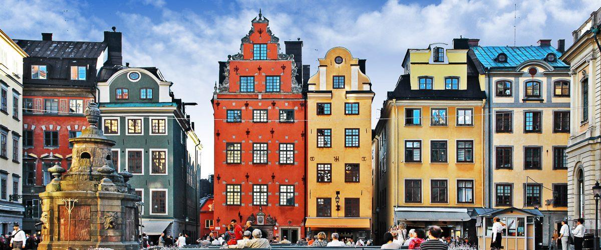 La vieille ville de Stockholm dans mon article Visiter Stockholm : Que faire à Stockholm en 10 coups de coeur #suede #stockholm #europe #voyage #scandinavie #citytrip