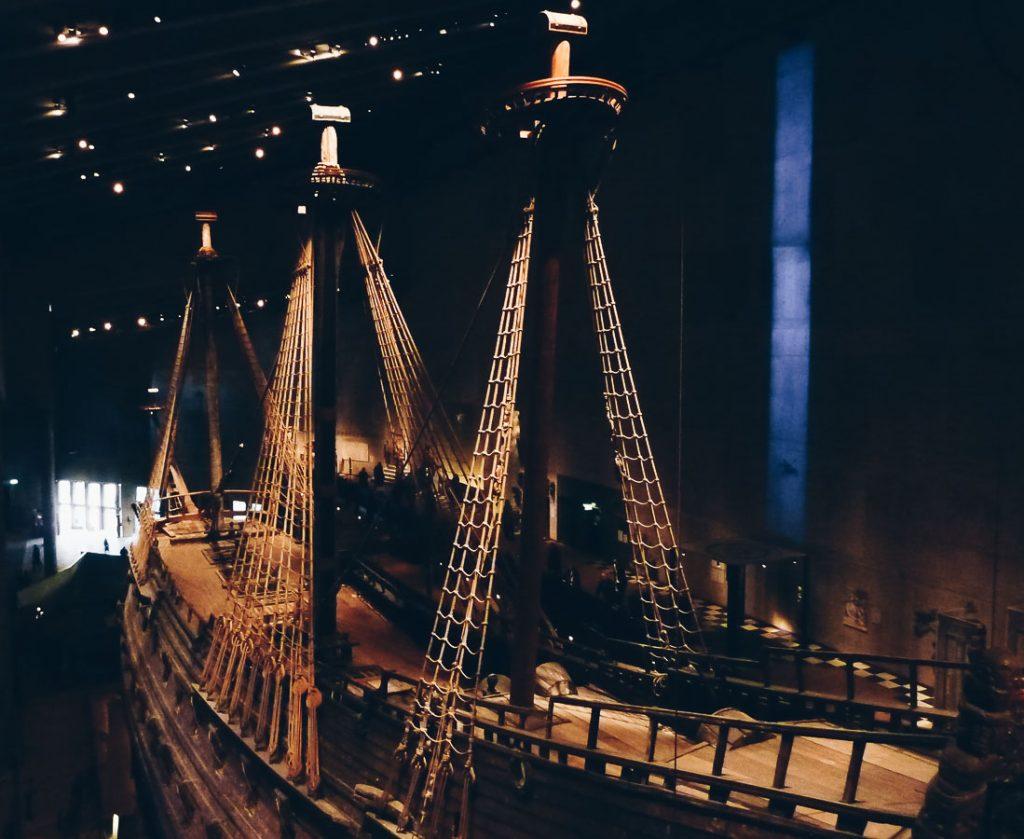 Épave au musée Vasamuseet à Stockholm dans mon article Visiter Stockholm : Que faire à Stockholm en 10 coups de coeur #suede #stockholm #europe #voyage #scandinavie #citytrip