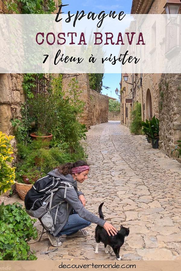 Visiter la Costa Brava en Espagne : Que faire et que voir en 7 lieux à visiter | Où aller sur la Costa Brava | Que faire sur la Costa Brava et que voir sur la Costa Brava | Quoi voir sur la Costa Brava et quoi faire | Que visiter sur la Costa Brava| Itinéraire Costa Brava en Espagne | Où dormir sur la Costa Brava | Visiter la Costa Brava #costabrava #espagne #catalogne #europe #voyage #spain