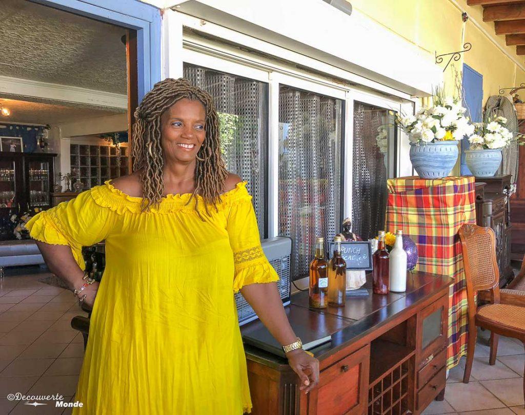 Un repas chez l'habitant en Guadeloupe dans mon article Que faire en Guadeloupe et visiter : Idées d'activités à petit budget #guadeloupe #antilles #caraibes #ile #voyage #grandeterre #culture