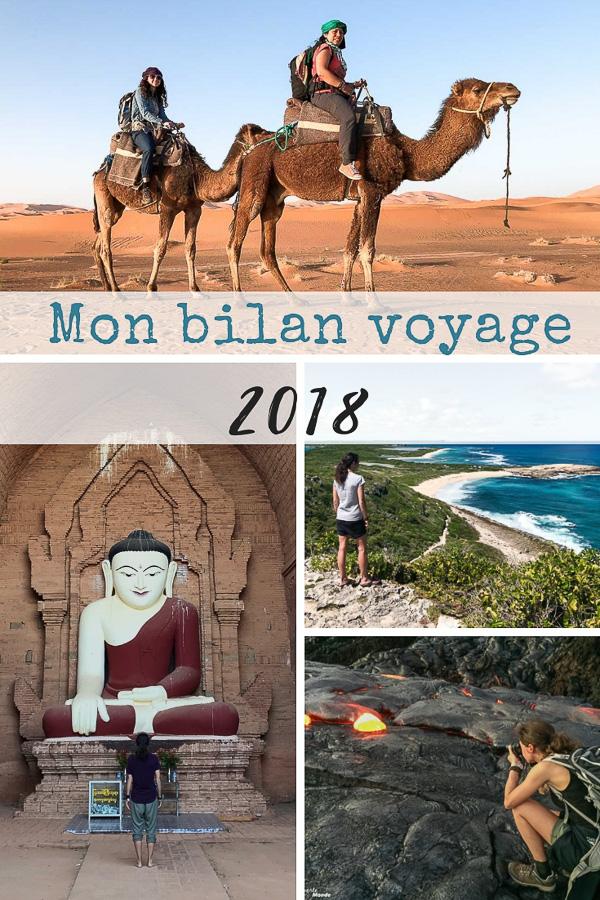 Mon bilan voyage 2018 : En photos, expériences et anecdotes #voyage #2018 #voyage2018