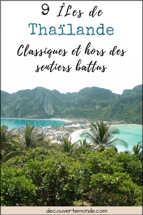 Quelle île de Thaïlande choisir : Nos 9 préférées connues et moins connues | île de Thaïlande | îles de Thaïlande | île en Thaïlande | îles en Thaïlande | Thaïlande | Quelle île choisir en Thaïlande | Visiter les îles de Thaïlande | sud Thaïlande | plages Thaïlande #thailande #asiedusudest #asie #ile #voyage #plage #plageparadisiaque #mer