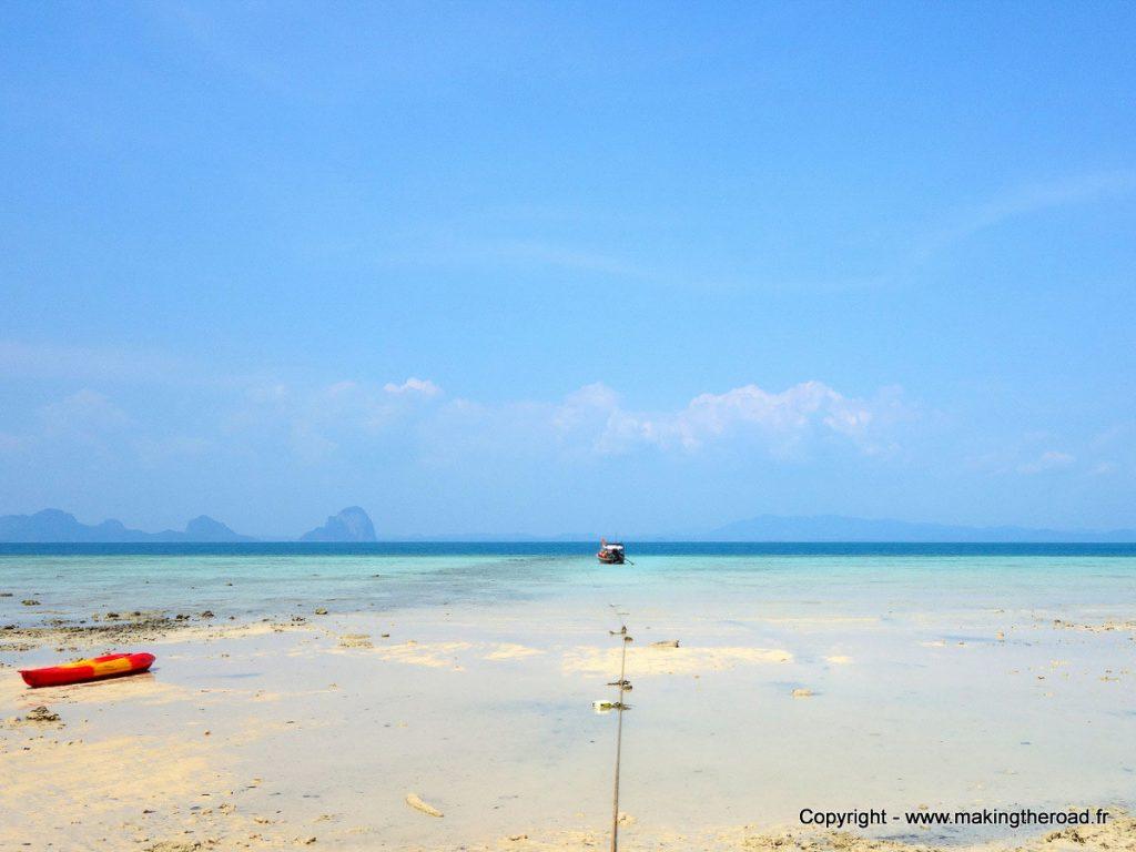 Île de Koh Ngai dans mon article Quelle île de Thaïlande choisir : Nos 9 préférées connues et moins connues #thailande #asiedusudest #asie #ile #voyage #plage #plageparadisiaque #mer #kohngai