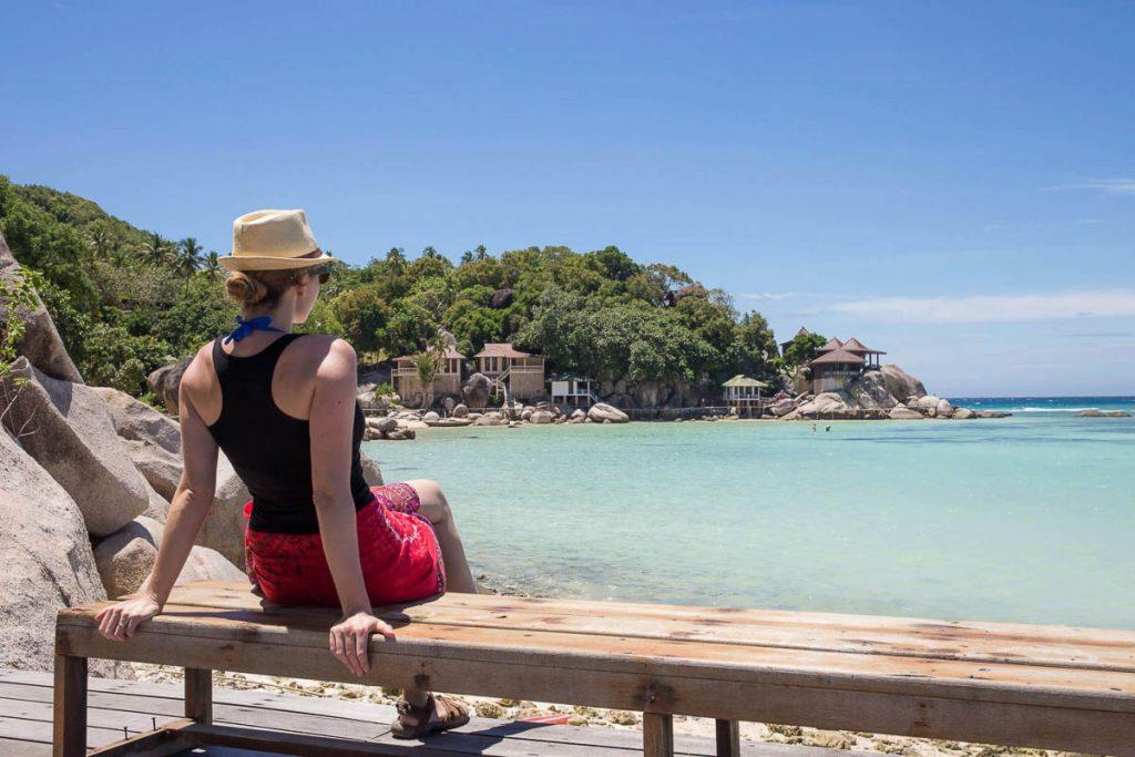Île de Koh Tao dans mon article Quelle île de Thaïlande choisir : Nos 9 préférées connues et moins connues #thailande #asiedusudest #asie #ile #voyage #plage #plageparadisiaque #mer #kohtao