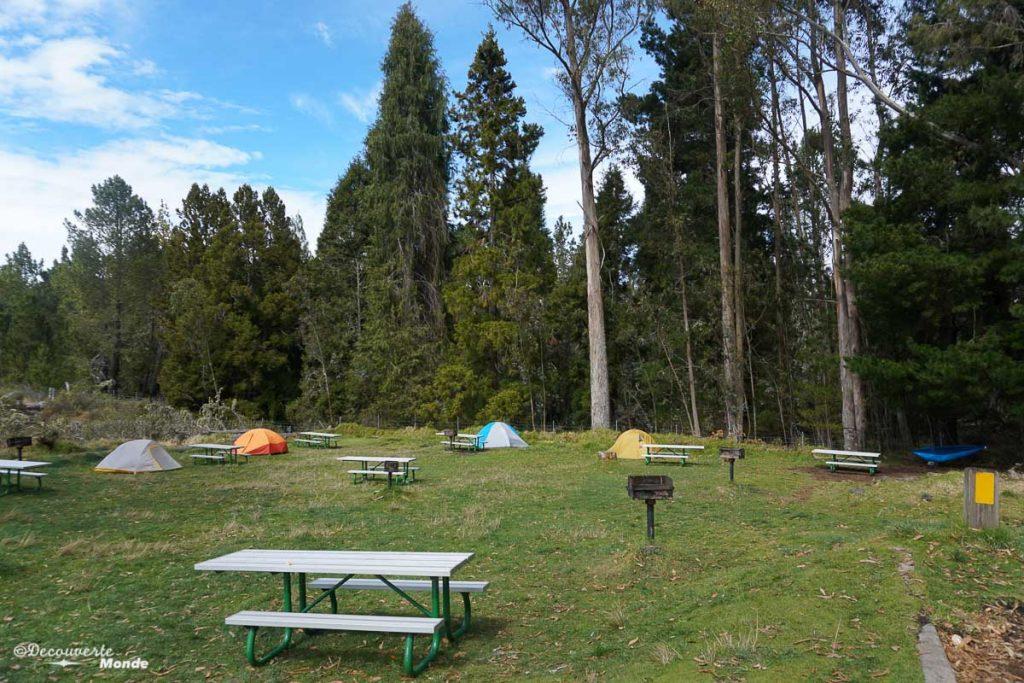 Au camping Hosmer Grove à Maui dans mon article Maui à Hawaii : Que faire en 10 jours de road trip sur l'île de Maui #maui #hawaii #hawai #etatsunis #usa #voyage #camping