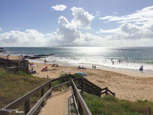 Plage de Kehei à Maui dans mon article Maui à Hawaii : Que faire en 10 jours de road trip sur l'île de Maui #maui #hawaii #hawai #etatsunis #usa #voyage #plage