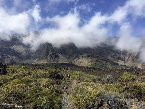 Randonnée dans le parc national du volcan Haleakala à Maui à Hawaii dans mon article Maui à Hawaii : Que faire en 10 jours de road trip sur l'île de Maui #maui #hawaii #hawai #etatsunis #usa #voyage #Haleakala #volcan