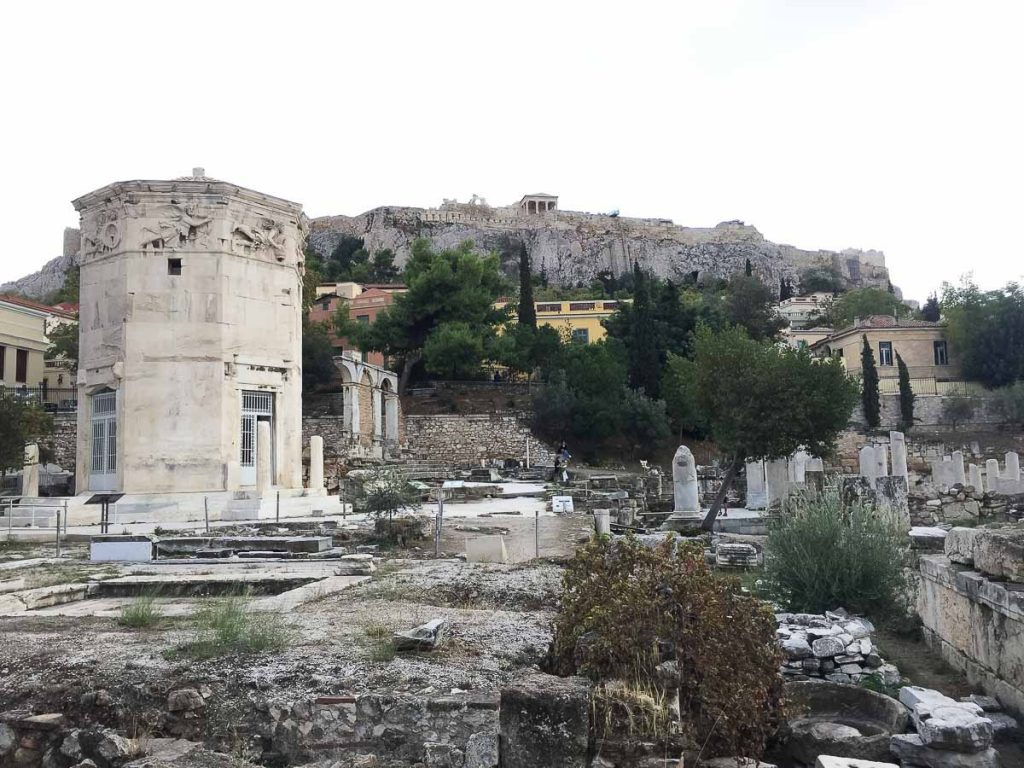 Visite de l'Agora romaine à Athènes dans mon article Visiter Athènes en Grèce : Que faire et voir le temps d'un week-end #athenes #athens #voyage #grece #histoire #romeantique #antiquite #patrimoine #unesco #agora #agoraromaine