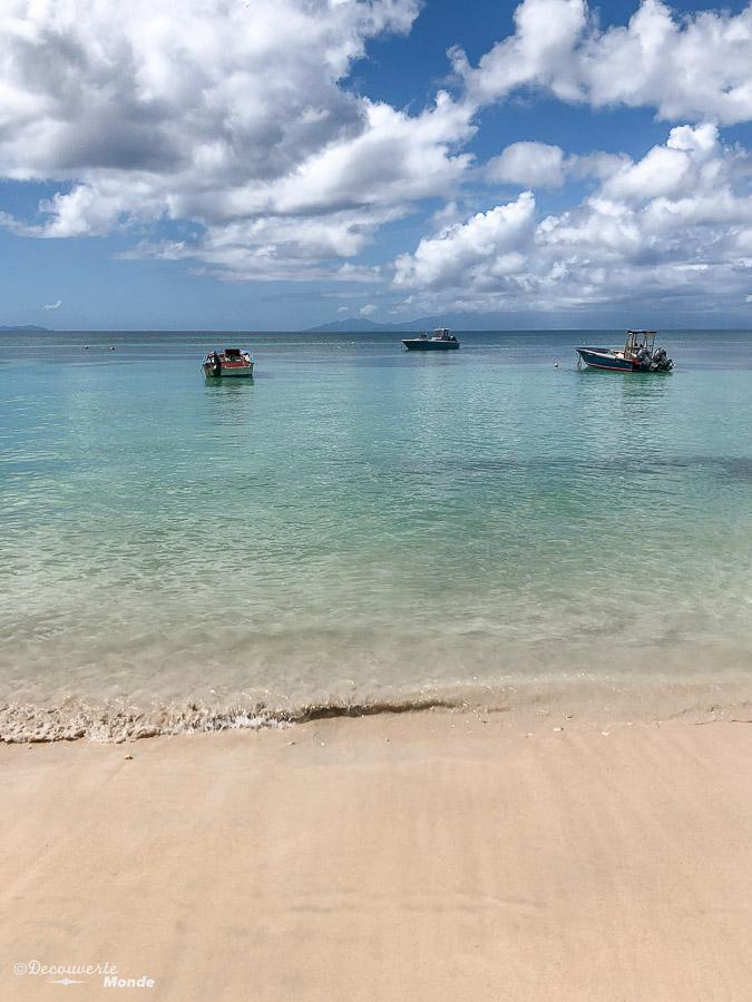 Paysage de la plage Anse-Canot sur Marie-Galante dans mon article Quoi faire en Guadeloupe : 6 paysages incontournables à voir en Guadeloupe #guadeloupe #antilles #caraibes #ile #voyage #mariegalante #plage #paysage #nature #ansecanot