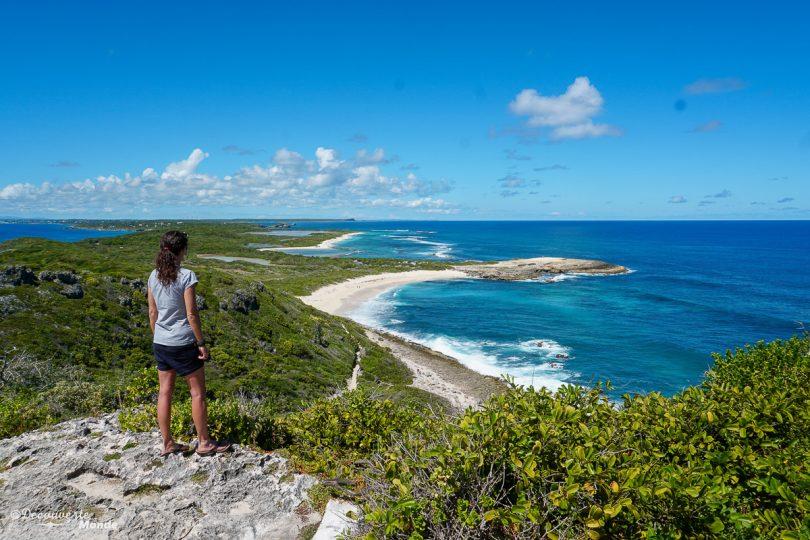 Paysage de Pointe-aux-Château dans mon article Quoi faire en Guadeloupe : 6 paysages incontournables à voir en Guadeloupe #guadeloupe #antilles #caraibes #ile #voyage #grandeterre #pointeauxchateaux #paysage #nature