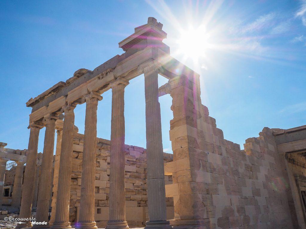 Richesses historiques d'Athènes dans mon article Visiter Athènes en Grèce : Que faire et voir le temps d'un week-end #athenes #athens #acropole #voyage #grece #histoire #greceantique #antiquite #patrimoine #unesco