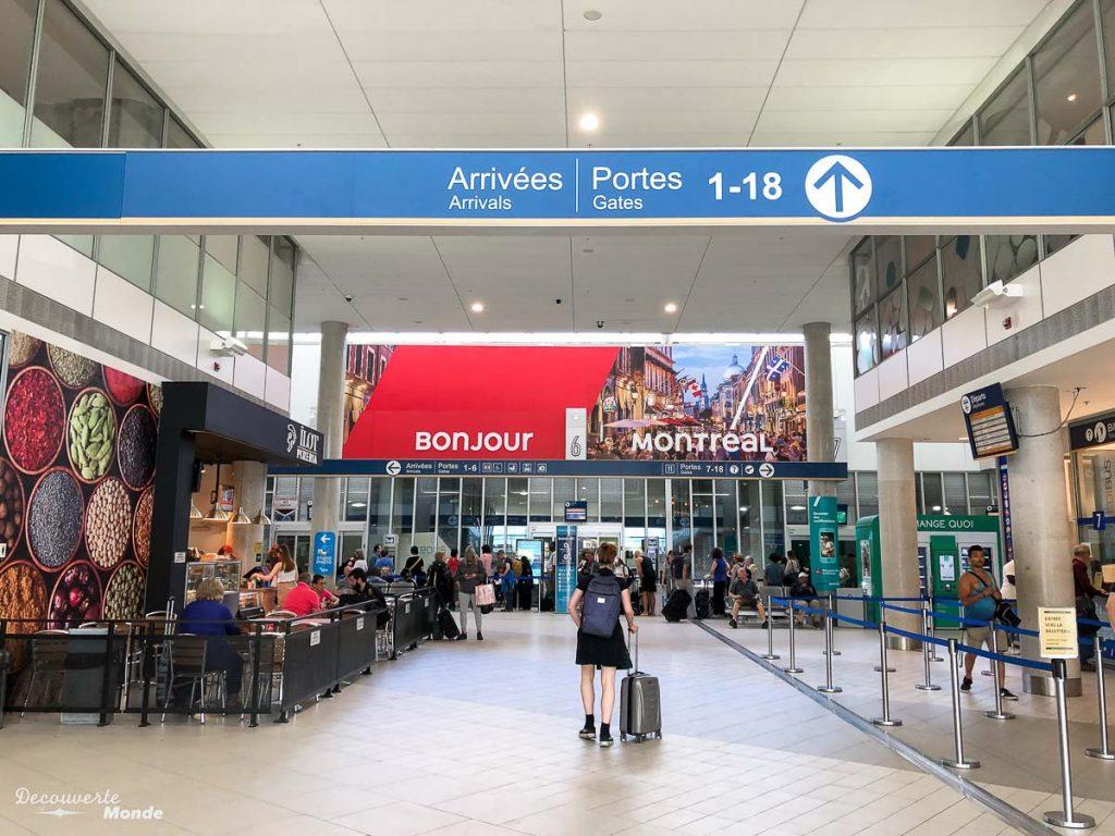 La gare de Montréal pour mon départ en bus de Montréal vers Mont-Tremblant Mon voyage au Mont-Tremblant en bus : Visiter Mont-Tremblant sans voiture #monttremblant #tremblant #laurentides #quebec #quebecoriginal #experiencebusbud #montreal #bus