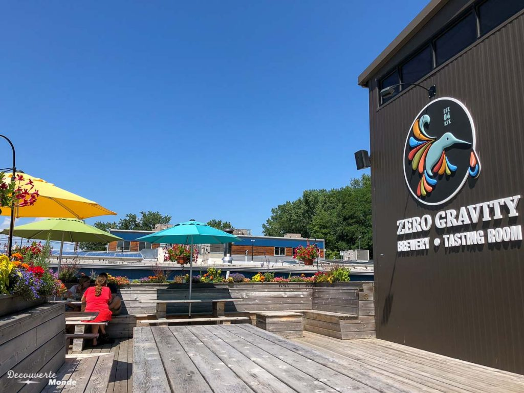 Zero Gravity Brewery, brasserie locale de bière à Burlington dans mon article Burlington aux USA : Quoi faire à Burlington au Vermont en un week-end #burlington #vermont #usa #etats-unis #biere