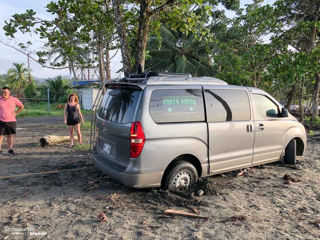 Imprévus en road trip au Costa Rica dans mon article Campervan au Costa Rica : Mes conseils pour un road trip au Costa Rica #costarica #voyage #campervan #van #vanlife #roadtrip